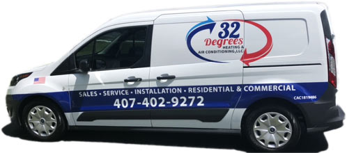 companytruck 32 Degrees Heating and Air Conditioning
